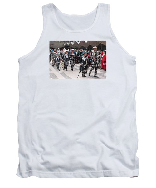 Pearly Kings And Queens Parade. Tank Top