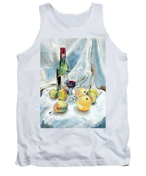Pears And Wine Tank Top