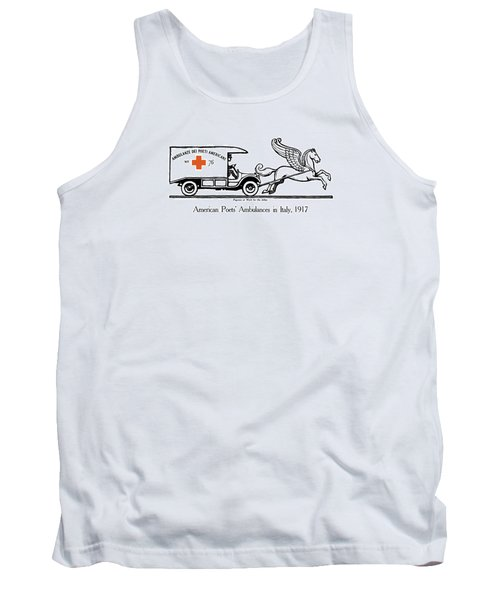 Pegasus At Work For The Allies Tank Top by War Is Hell Store