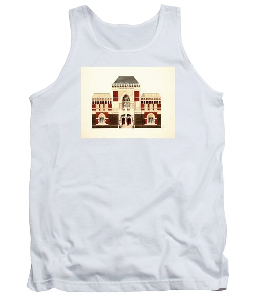 Tank Top featuring the painting Pennsylvania Academy Of Fine Art by William Renzulli