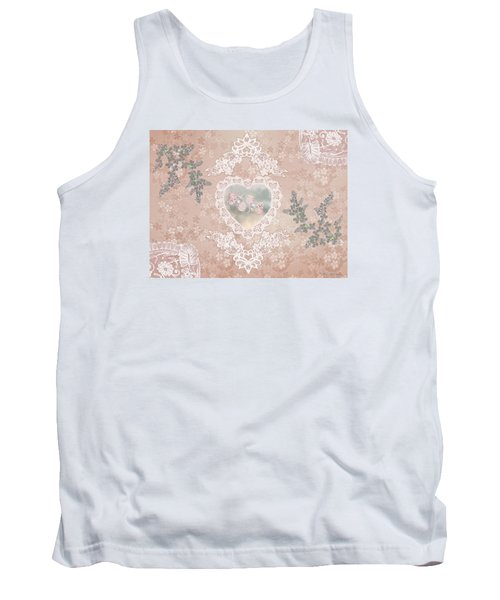 Penny Postcard Passionate Tank Top
