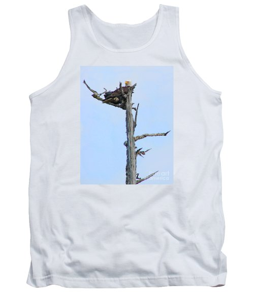 Perched Eagle Tank Top
