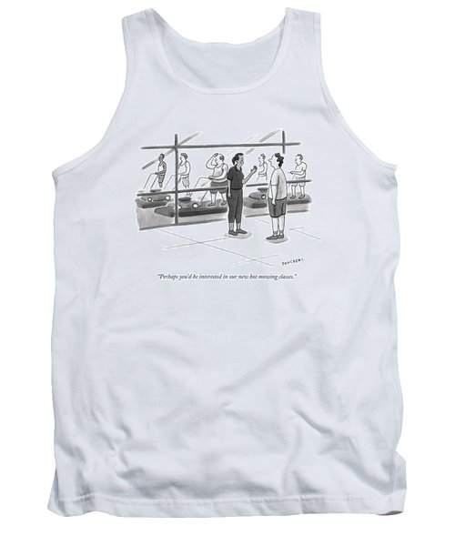 Perhaps You'd Be Interested In Our New Hot Mowing Tank Top