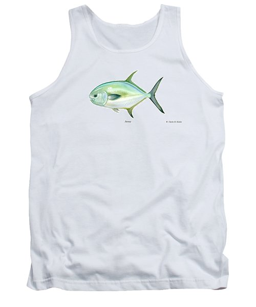 Permit Tank Top by Charles Harden
