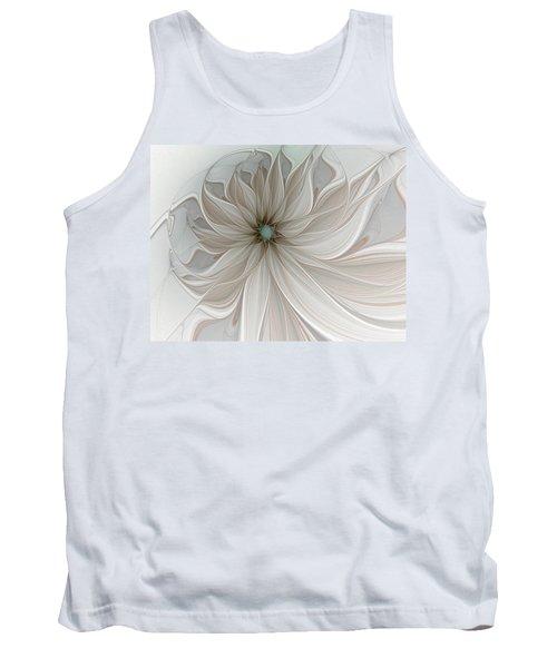 Petal Soft White Tank Top