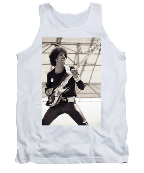 Phil Lynott Of Thin Lizzy Black Rose Tour At Day On The Green 4th Of July 1979 - Unreleased No 2 Tank Top