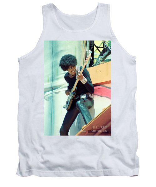 Phil Lynott Of Thin Lizzy - Black Rose Tour Day On The Green 7-4-79  Tank Top