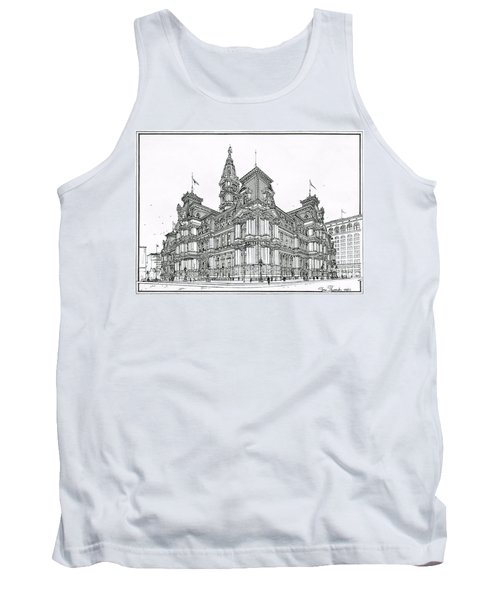 Philadelphia City Hall 1911 Tank Top