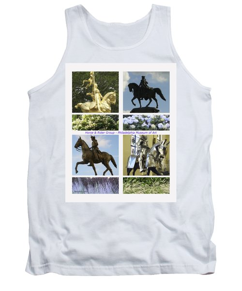 Tank Top featuring the photograph Philadelphia Museum Of Art by Mary Ann Leitch