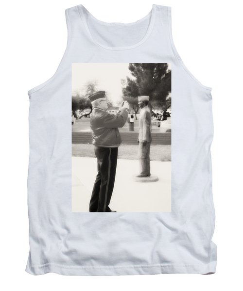 Photographing Ira Hayes Tank Top