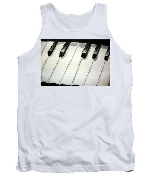 Piano Keys Tank Top
