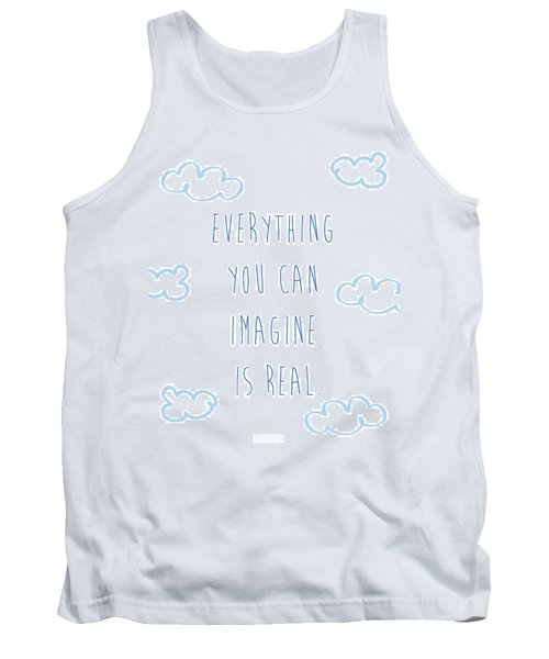 Picasso Quote Tank Top