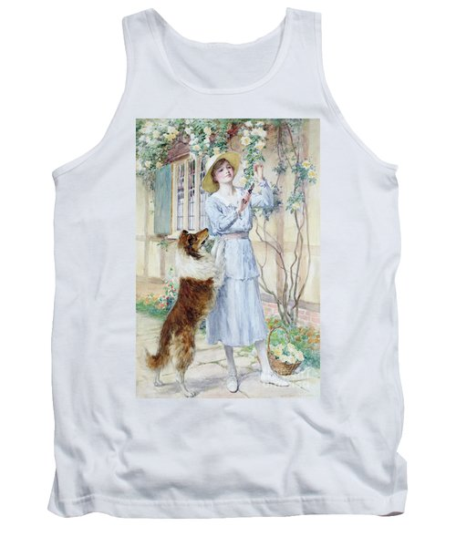 Picking Roses Tank Top