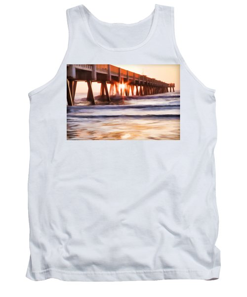 Pier Sunrise Too Tank Top