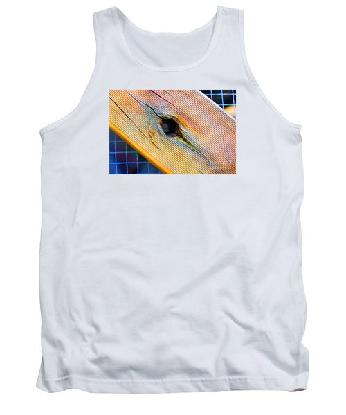 Tank Top featuring the photograph Pine by Cassandra Buckley