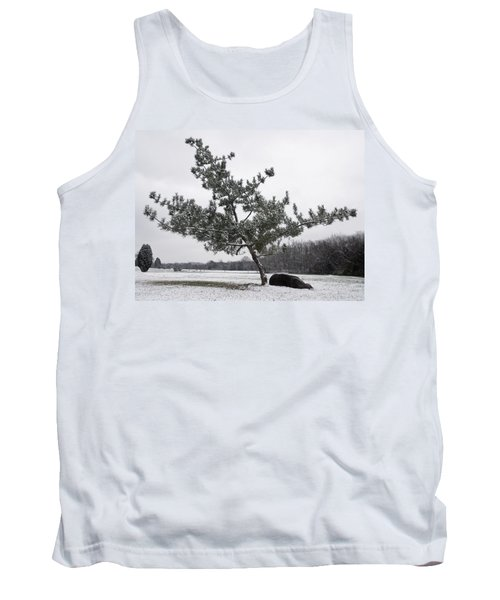 Pine Tree Tank Top by Melinda Fawver
