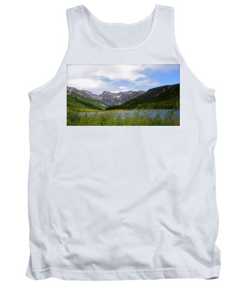 Piney Lake In Upper Vail Tank Top