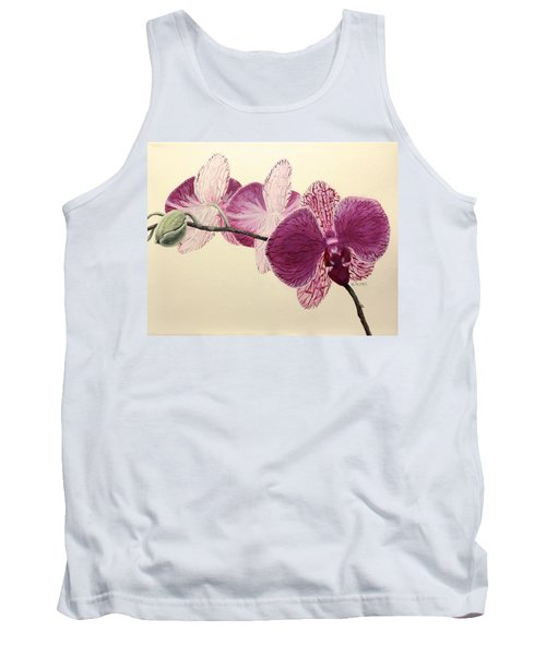 Pink Orchid Tank Top