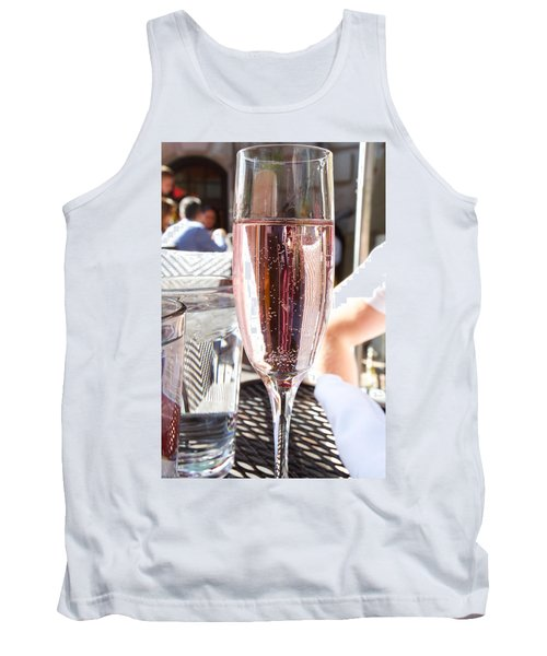 Pink Prosecco Tank Top