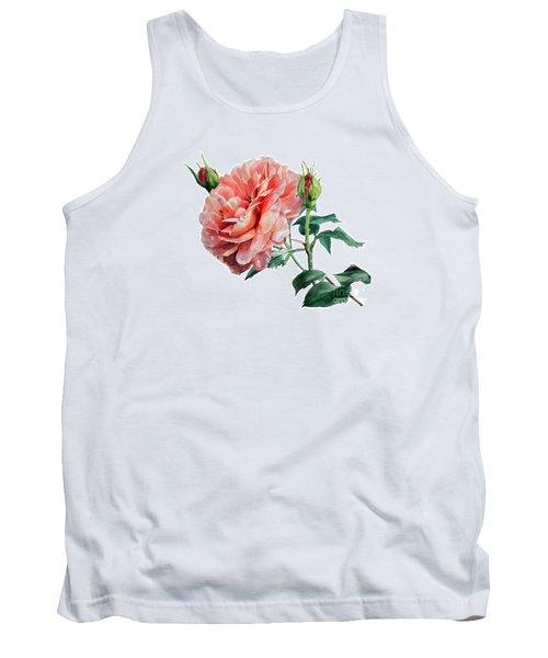 Pink Rose Odette  Tank Top