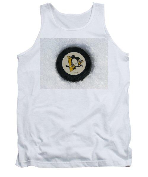 Pittsburgh Penguins Tank Top by Michael Krek