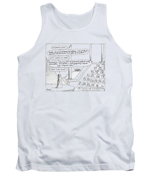Plato The Standup Tank Top