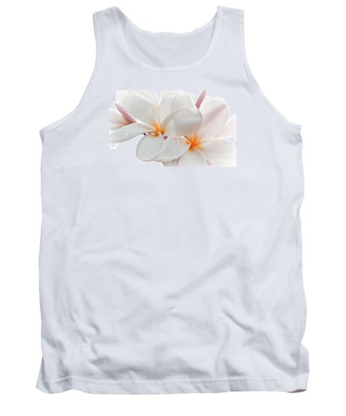 Tank Top featuring the photograph Plumeria by Roselynne Broussard