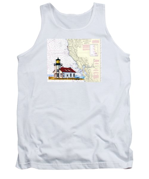 Point Cabrillo Light Station Tank Top