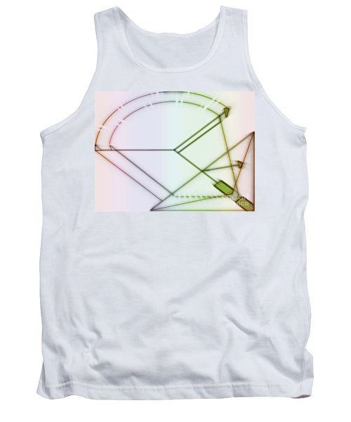 Point-out Projection Tank Top
