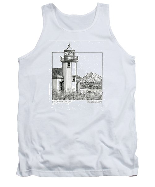 Point Robinson Light Tank Top by Ira Shander