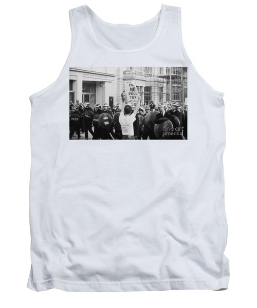 Poll Tax Riots London Tank Top