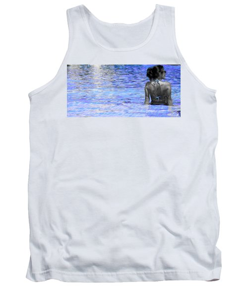 Pool Tank Top by J Anthony