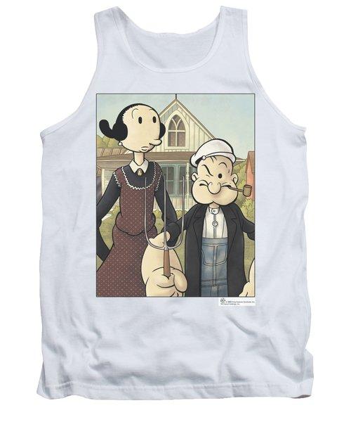 Popeye - Popeye Gothic Tank Top