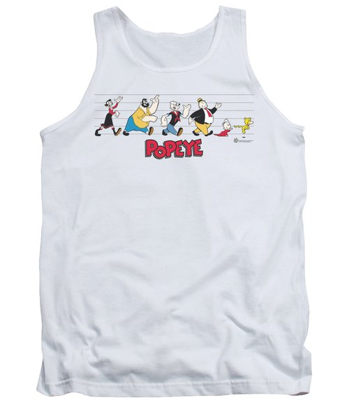 Popeye - The Usual Suspects Tank Top by Brand A