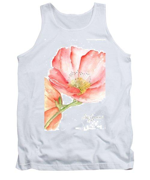 Poppy Bloom Tank Top