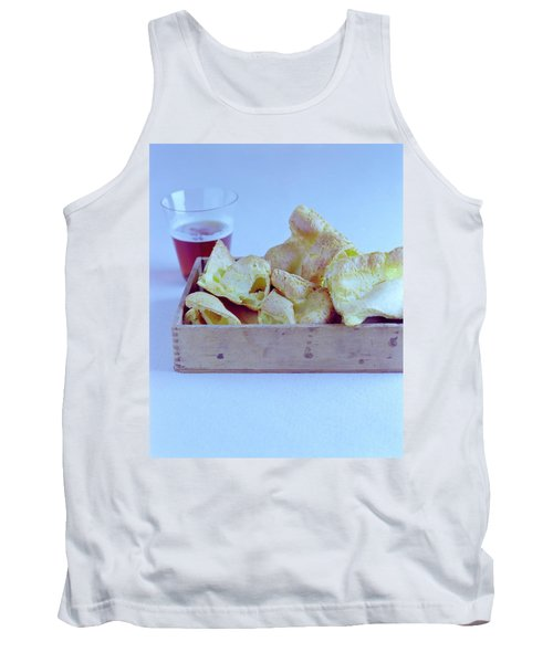 Pork Rinds With A Pint Tank Top