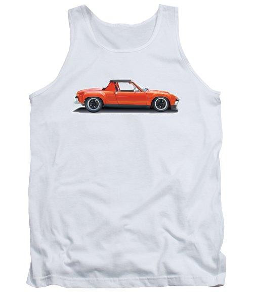 Porsche 914-6 Gt Tank Top by Alain Jamar