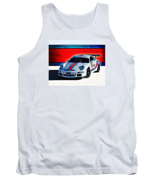 Porsche Gt3 Martini Tank Top