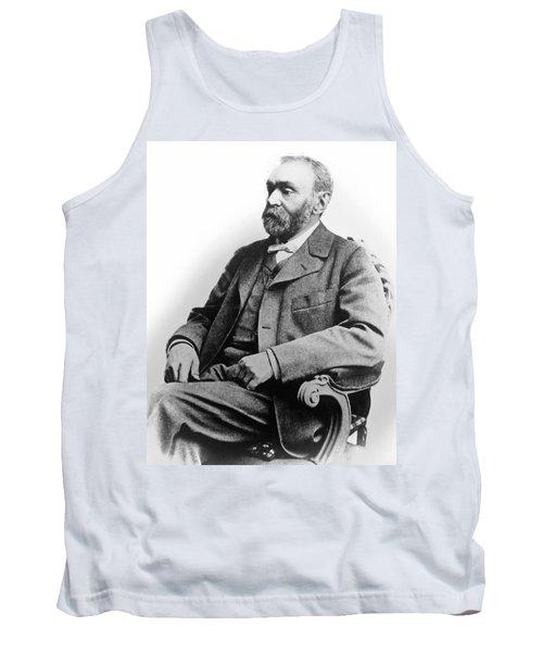 Portrait Of Alfred Nobel Tank Top