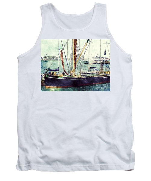 Portsmouth Harbour Boats Tank Top