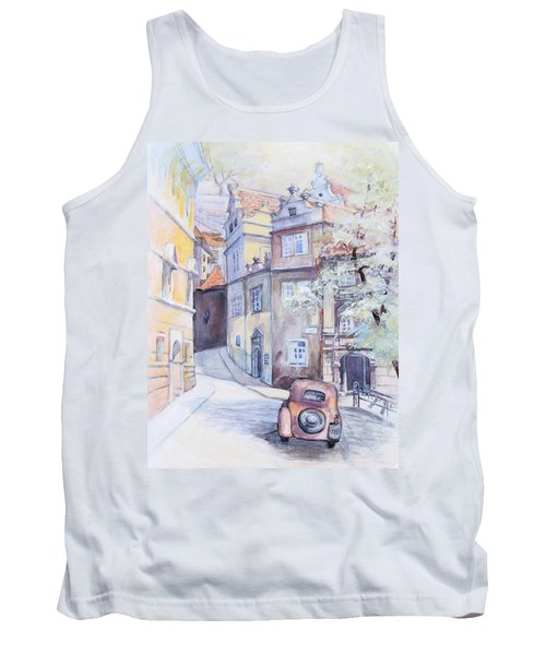 Prague Golden Well Lane Tank Top