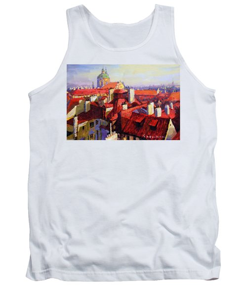 Prague Old Roofs 04 Tank Top
