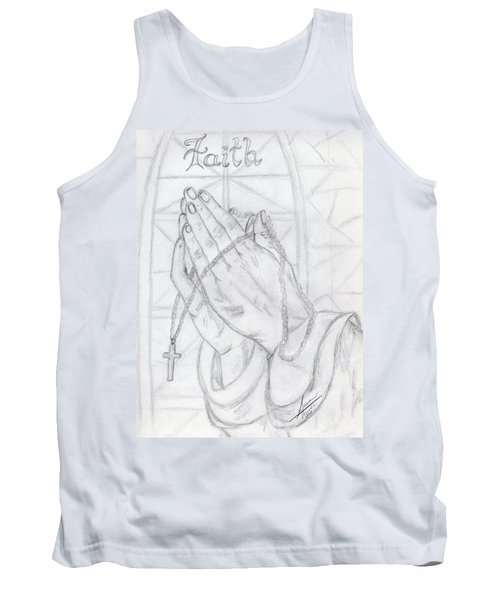 Praying Hands Tank Top