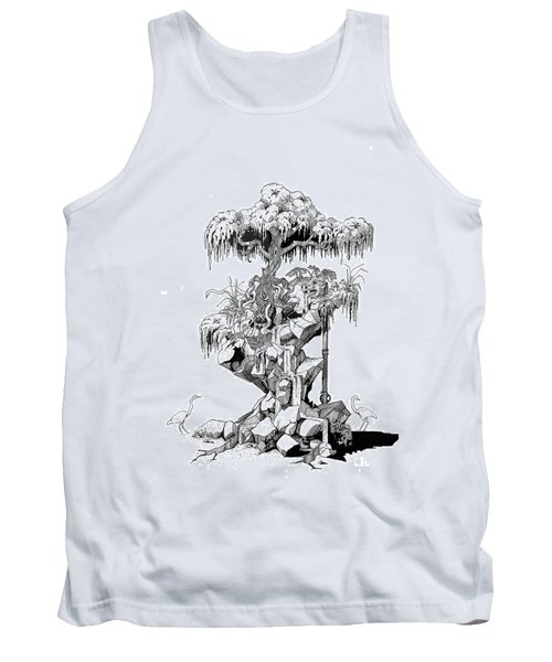 Ptactvo Tank Top by Julio Lopez