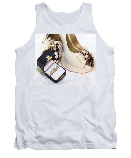 Tank Top featuring the photograph Prelude To Our Valentine Vows by DigiArt Diaries by Vicky B Fuller