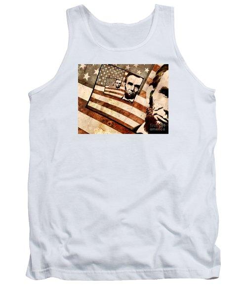 President Abraham Lincoln Tank Top