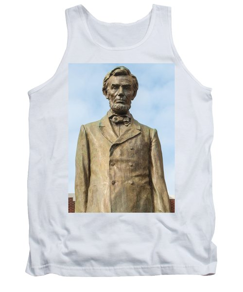 President Lincoln Statue Tank Top