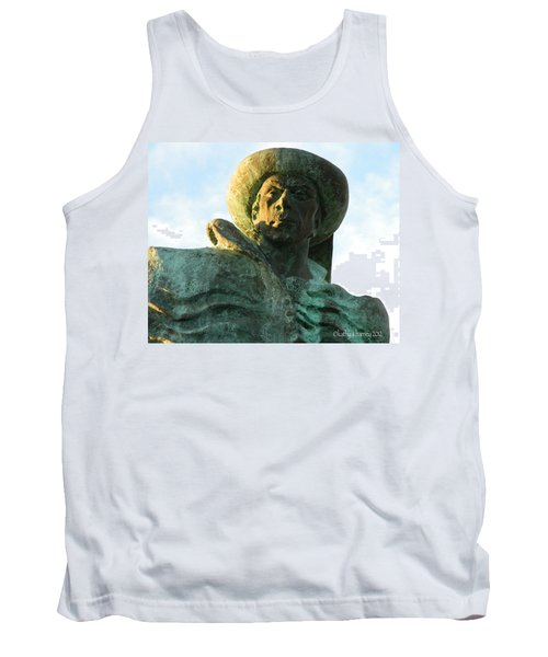Tank Top featuring the photograph Prince Henry The Navigator by Kathy Barney