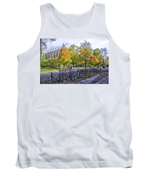 Princeton University Campus Tank Top by Madeline Ellis