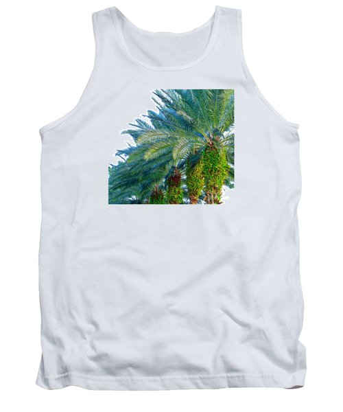 Tank Top featuring the photograph Progression Of Palms by Joy Hardee